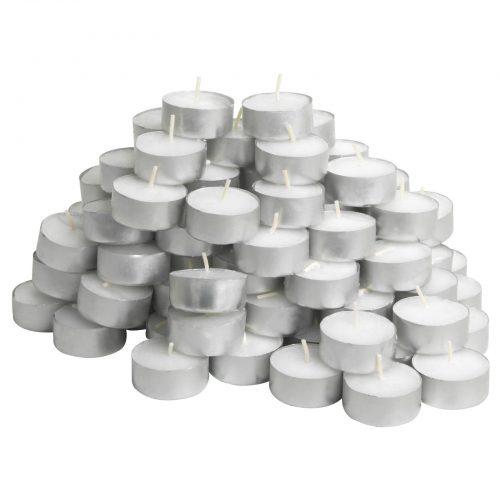 Candele senza profumo tealight GLIMMA lumini 100 pezzi