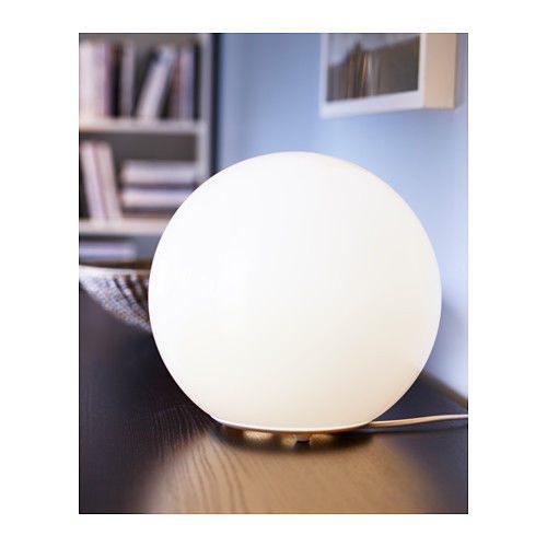 Lampada da tavolo FADO, lampada a sfera