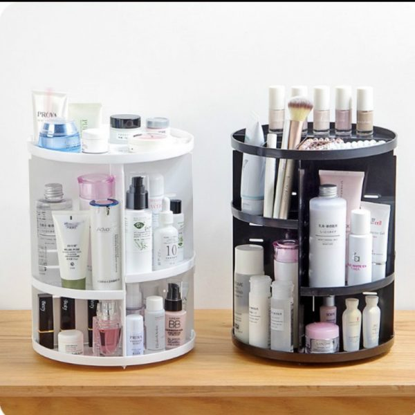 Portatrucchi dispenser Make Up cosmetici rotazione 360°
