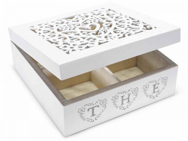 scatola tè portaspezie