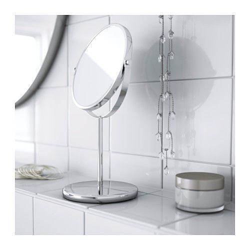 Specchio da tavolo TRENSUM, specchio da trucco in acciao inox