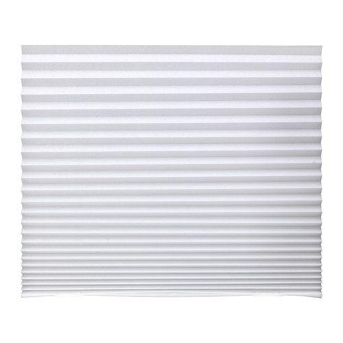 Tenda plissettata SCHOTTIS 90×190 cm bianca
