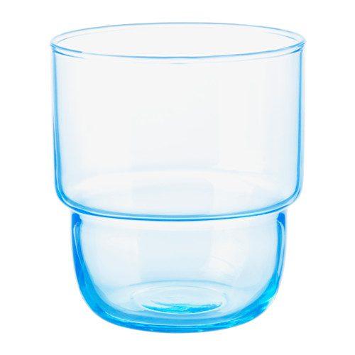 Bicchiere MUSTIG, azzurro 23 cl