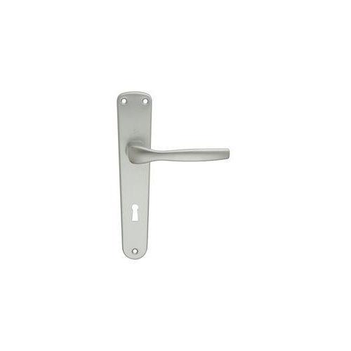 Maniglia a placca in alluminio per porte interne