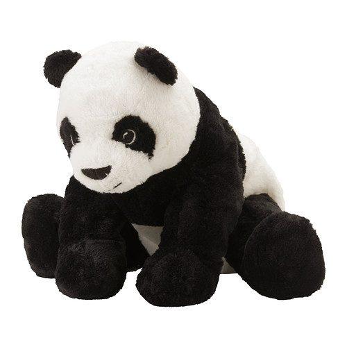 Peluche Panda KRAMIG, giocattolo morbido