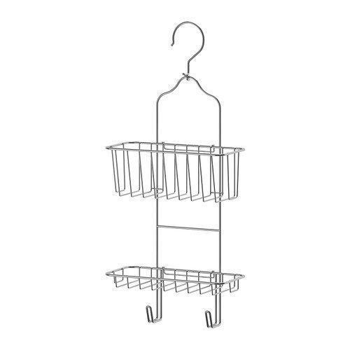 Portaoggetti per doccia IMMELN, 2 ripiani