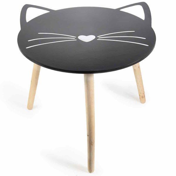 Tavolino da salotto a forma di gatto