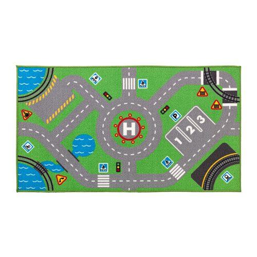 Tappeto STORABO 75×133 cm giochi bambini fantasia verde