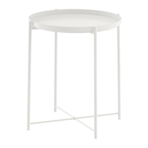 Tavolino vassoio GLADOM, 45×53 cm vari colori