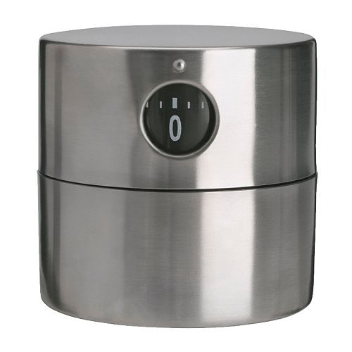Timer da cucina ORDNING, acciaio inox
